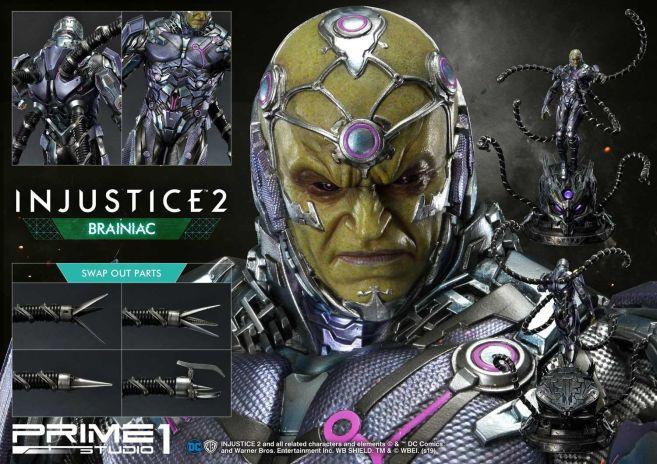 Prime 1 Studio - Injustice 2 - Brainiac - 58