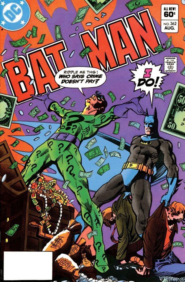 Batman 362 - Best Riddler Stories