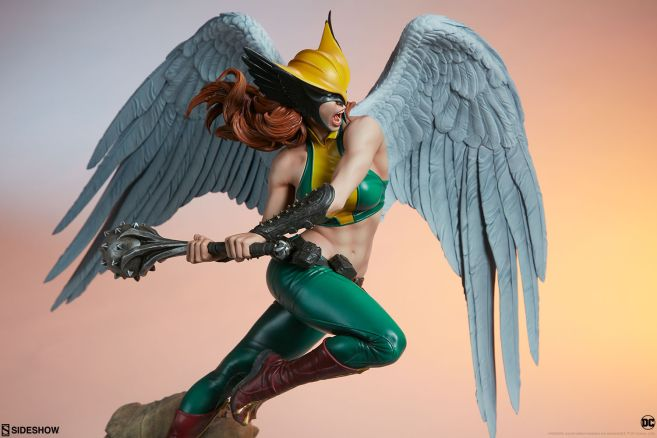 Sideshow - DC - Hawkgirl Premium Format Figure - 07
