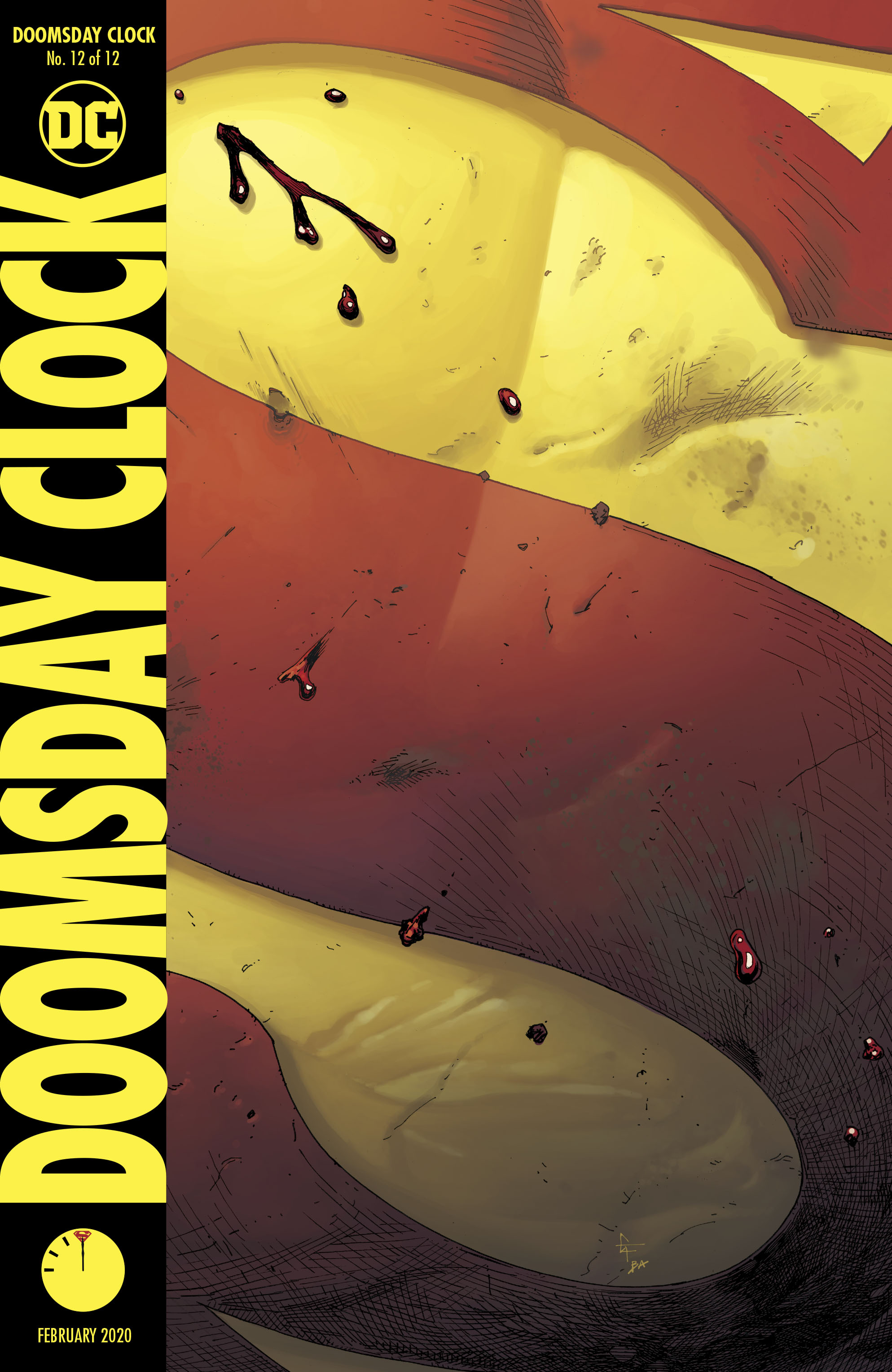 Doomsday Clock 12 Review Batman News