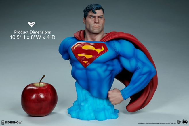 Sideshow - Superman - Superman Bust - 02