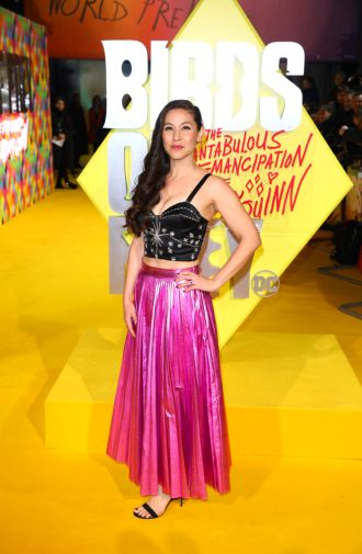 Christina Hodson attends the world premiere for Birds of Prey (and The Fantabulous Emancipation of One Harley Quinn) in cinemas February 7th. (Photo by Tim P. Whitby)