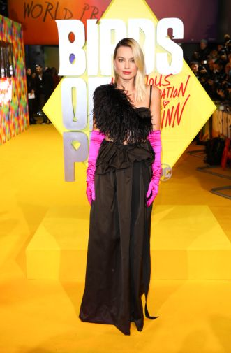 Margot Robbie attends the world premiere for Birds of Prey (and The Fantabulous Emancipation of One Harley Quinn) in cinemas February 7th. (Photo by Tim P. Whitby)