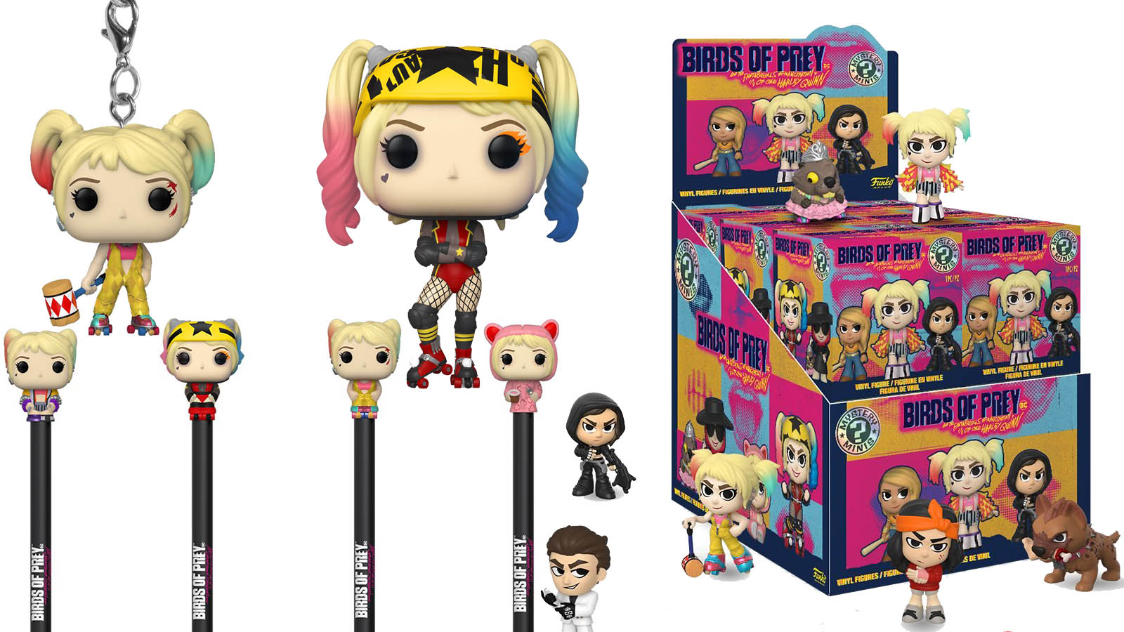Funko Birds Of Prey Pop Figures And More Up For Preorder Batman News