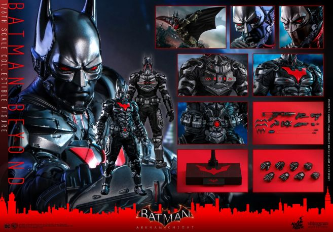Hot Toys - Arkham Knight - Batman Beyond - 22