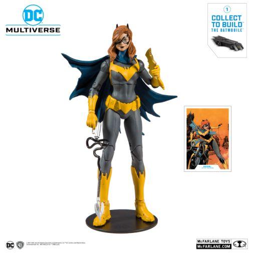 McFarlane Toys - DC Multiverse - Batmobile Build-a-Figure - Batgirl Action Figure - 01