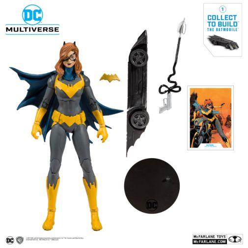 McFarlane Toys - DC Multiverse - Batmobile Build-a-Figure - Batgirl Action Figure - 05
