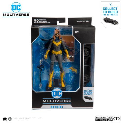 McFarlane Toys - DC Multiverse - Batmobile Build-a-Figure - Batgirl Action Figure - 06