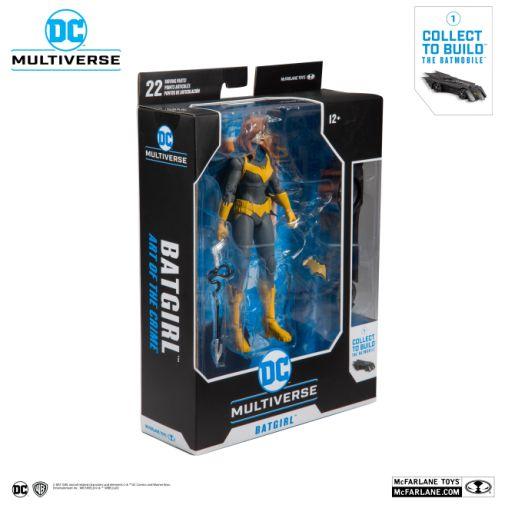 McFarlane Toys - DC Multiverse - Batmobile Build-a-Figure - Batgirl Action Figure - 07
