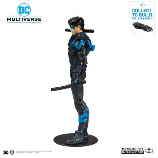 McFarlane Toys - DC Multiverse - Batmobile Build-a-Figure - Nightwing Action Figure - 02