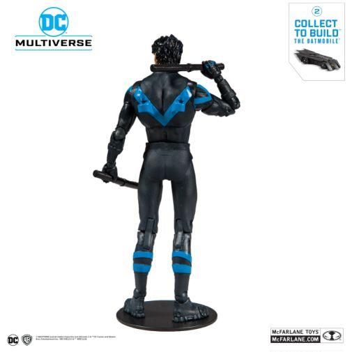 McFarlane Toys - DC Multiverse - Batmobile Build-a-Figure - Nightwing Action Figure - 03