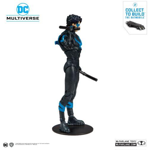 McFarlane Toys - DC Multiverse - Batmobile Build-a-Figure - Nightwing Action Figure - 04