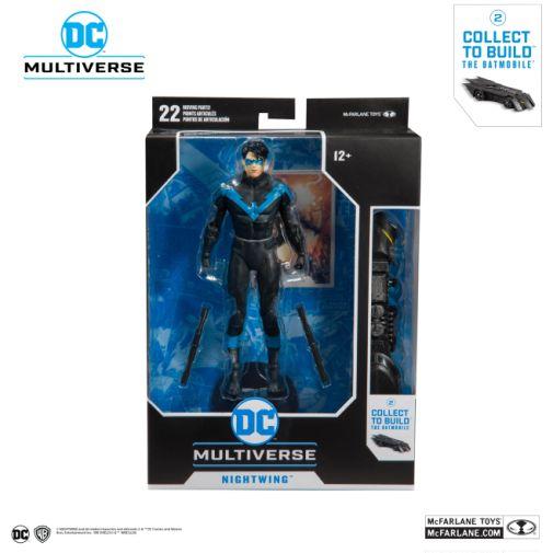 McFarlane Toys - DC Multiverse - Batmobile Build-a-Figure - Nightwing Action Figure - 06