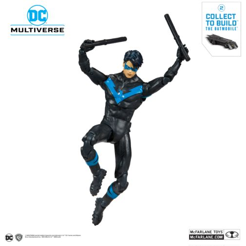 McFarlane Toys - DC Multiverse - Batmobile Build-a-Figure - Nightwing Action Figure - 08