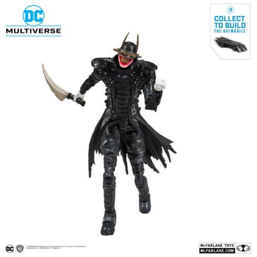 McFarlane Toys - DC Multiverse - Batmobile Build-a-Figure - The Batman Who Laughs Action Figure - 08