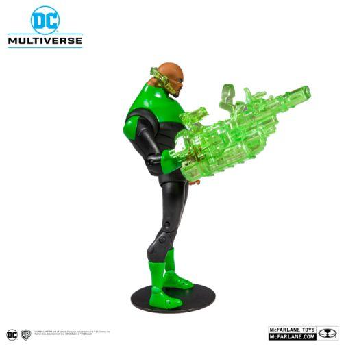McFarlane Toys - DC Multiverse - Justice League - John Stewart Green Lantern Action Figure - 04