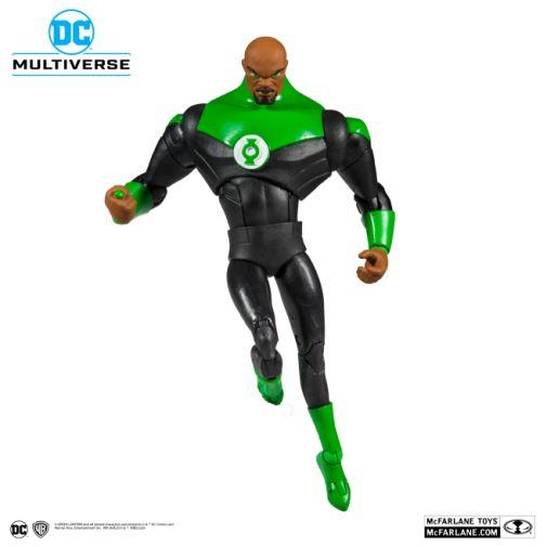 McFarlane Toys - DC Multiverse - Justice League - John Stewart Green Lantern Action Figure - 08