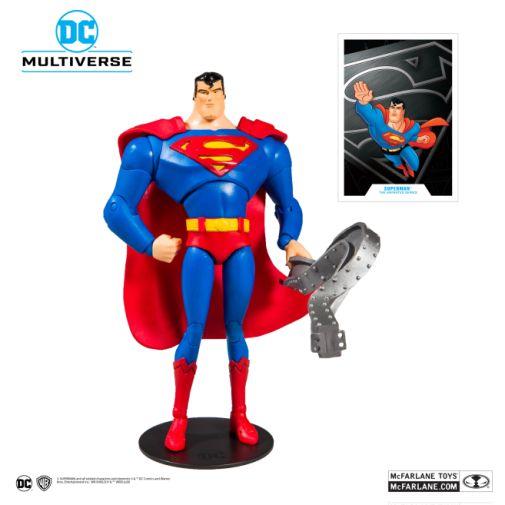 McFarlane Toys - DC Multiverse - Superman - Superman the Animated Series - Superman Action Figure - 01