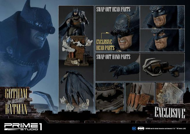 Prime 1 Studio - DC Comics - Gotham by Gaslight - Blue Ver - 54