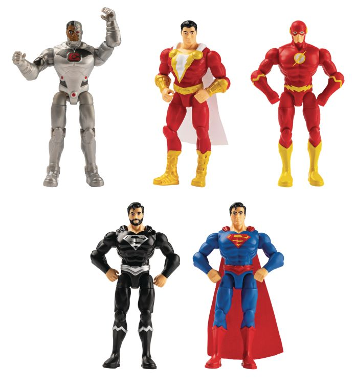 Spin Master - DC - 4-Inch Action Figure Assortmant - 01