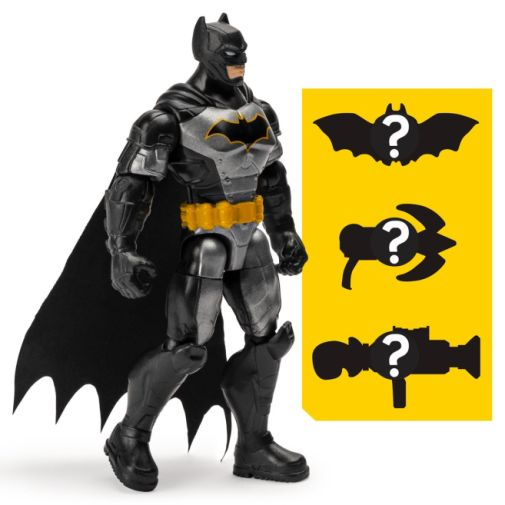 Spin Master - DC - Batman Tactical Suit 4-Inch Action Figure - 04