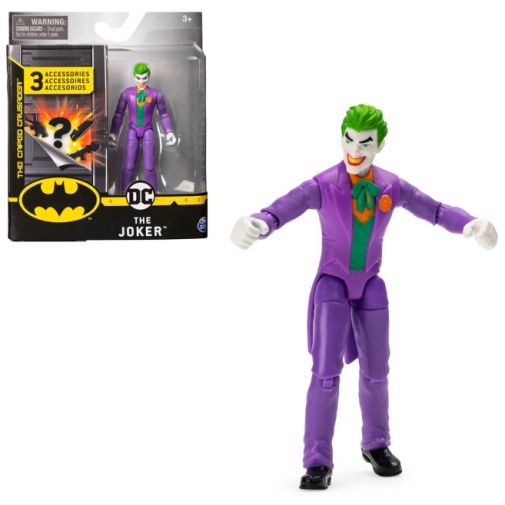 Spin Master - DC - Joker 4-Inch Action Figure - 02