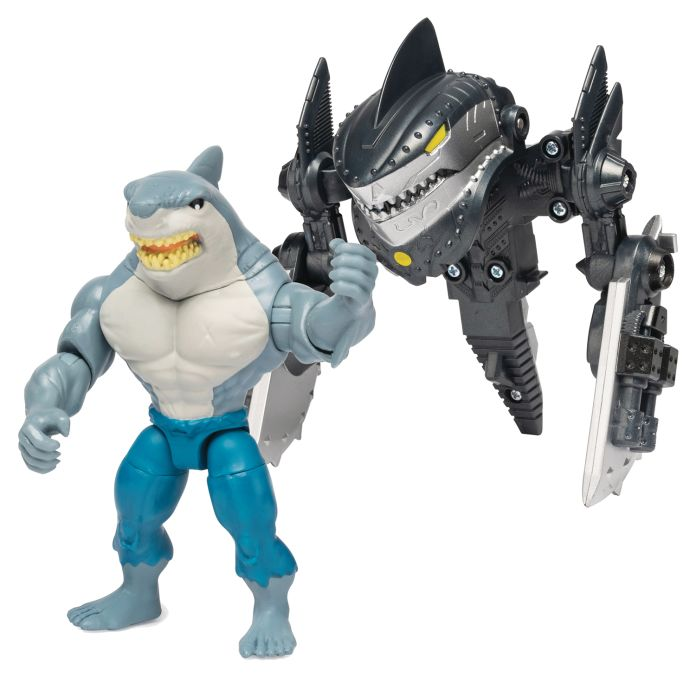 Spin Master - DC - Mega Gear King Shark 4-Inch Action Figure - 01