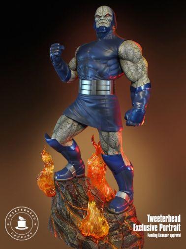Tweeterhead - Darkseid Statue - 01