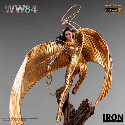 Iron Studios - DC Comics - Wonder Woman 1984 - Golden Armor - 05
