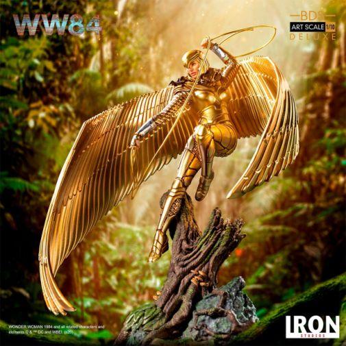 Iron Studios - DC Comics - Wonder Woman 1984 - Golden Armor - 12