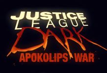 Justice League Dark Apokolips War logo