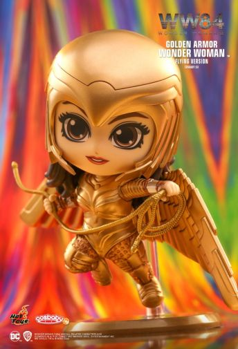 Hot Toys - Wonder Woman 1984 - Cosbaby - Golden Armor Flying - 01