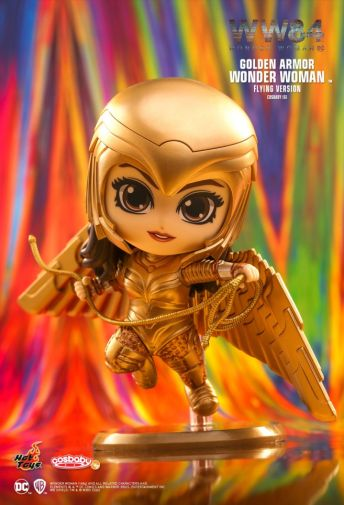Hot Toys - Wonder Woman 1984 - Cosbaby - Golden Armor Flying - 03