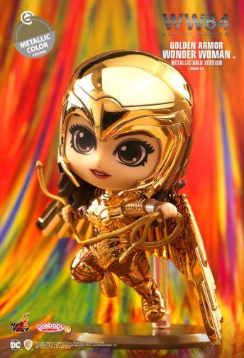 Hot Toys - Wonder Woman 1984 - Cosbaby - Golden Armor Metallic - 01
