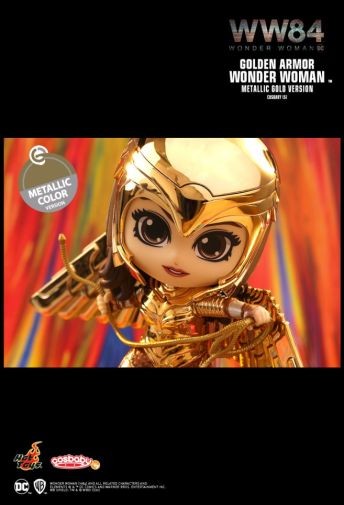 Hot Toys - Wonder Woman 1984 - Cosbaby - Golden Armor Metallic - 03