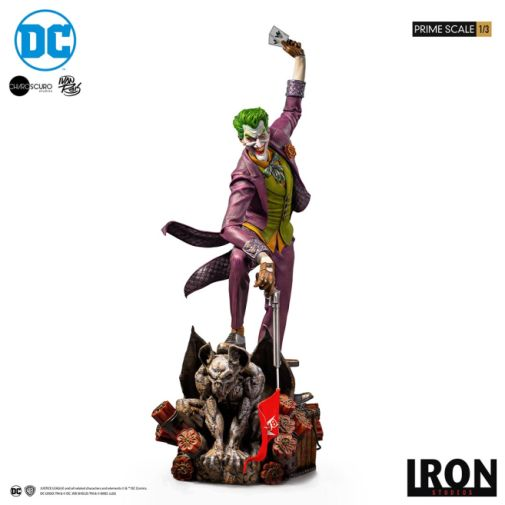 Iron Studios - The Joker - 1-3 Scale - 06
