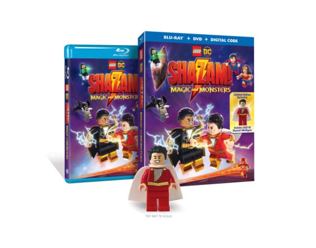 LEGO - Shazam Magic and Monsters - Covers - 01