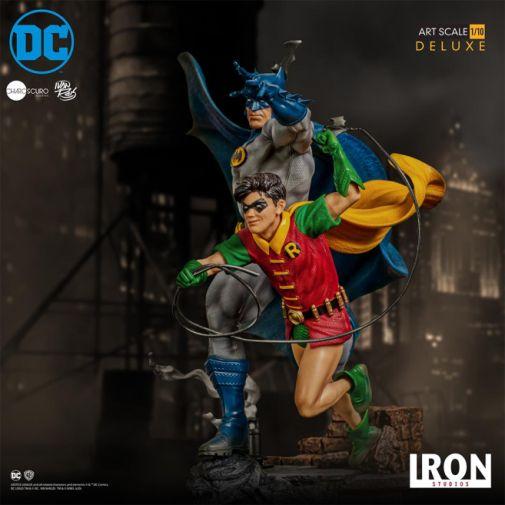 Iron Studios - Batman - Batman and Robin Diorama - 03