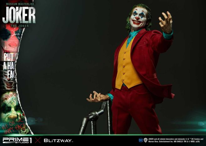 Prime 1 Studio - Joaquin Phoenix - Joker - 110