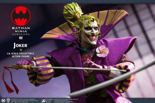 Star Ace Toys - Batman Ninja - Lord Joker - 06
