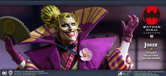 Star Ace Toys - Batman Ninja - Lord Joker - 07