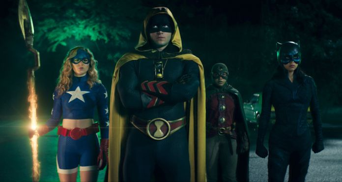 Stargirl, Hourman, Dr. Mid-Nite, and Wildcat