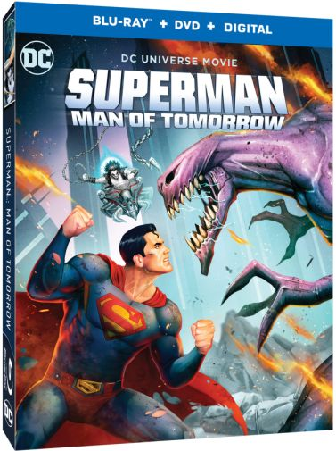 Superman - Man of Tomorrow - Blu-ray - Cover - 02