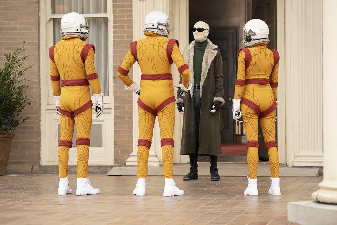 Doom Patrol - Larry Trainor, Zip, Specs, and Moscow