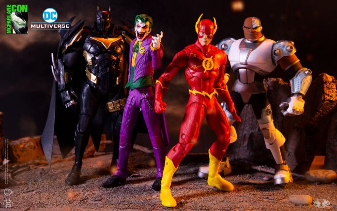McFarlane Toys DC Multiverse - SDCC 2020 - Group Shot