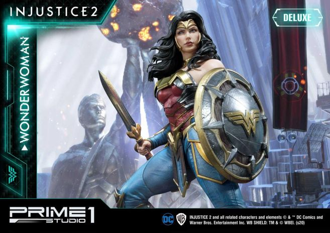 Prime 1 Studio - Injustice 2 - Wonder Woman - Deluxe - 08