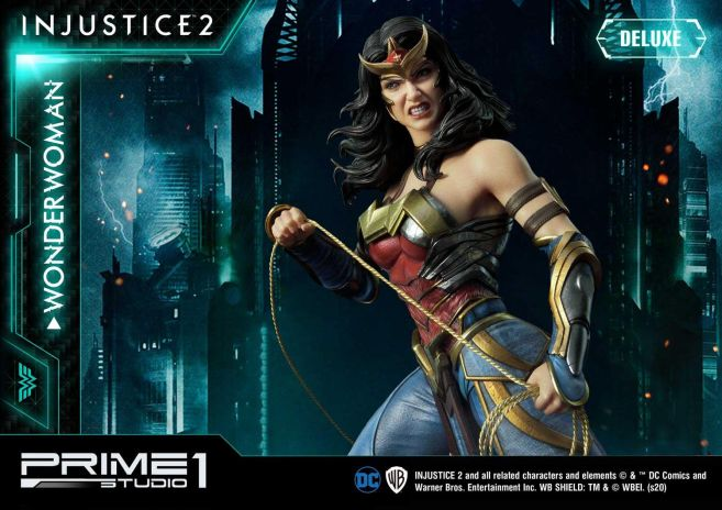 Prime 1 Studio - Injustice 2 - Wonder Woman - Deluxe - 11