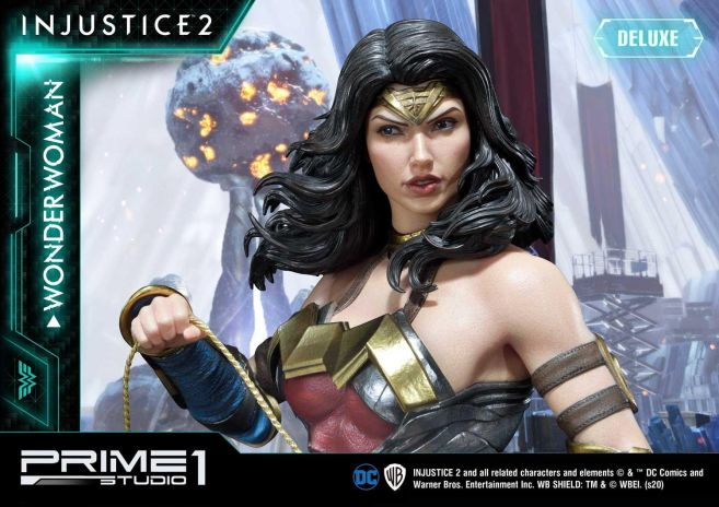 Prime 1 Studio - Injustice 2 - Wonder Woman - Deluxe - 12