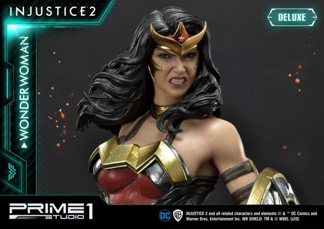 Prime 1 Studio - Injustice 2 - Wonder Woman - Deluxe - 21