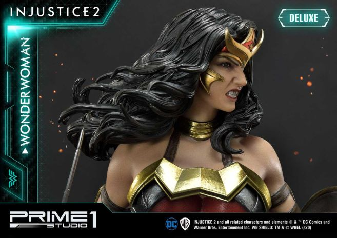 Prime 1 Studio - Injustice 2 - Wonder Woman - Deluxe - 22